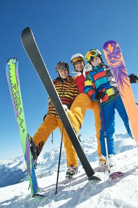 Ski hoch
