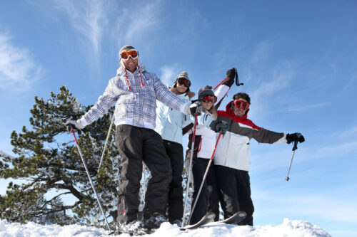 Freeriding or back country skiing – not for the faint-hearted!