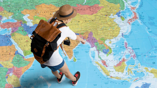 Decide where you want to study to prepare your trip