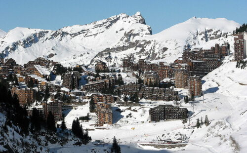 When is the best time to visit the alpine ski resort Avoriaz?